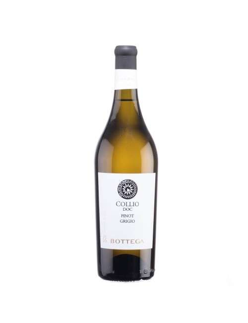 COLLIO DOC PINOT GRIGIO BOTTEGA 2016 750 ML 13% VOL