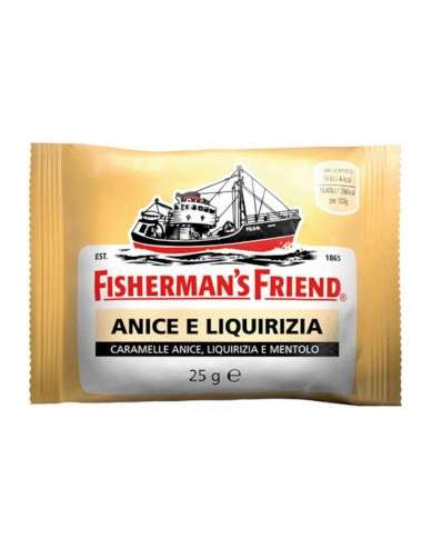 Fisherman's friend Anice e Liquirizia 24 pezzi