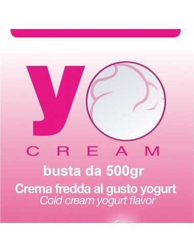 YOCREAM Crema fredda allo yogurt busta 500g