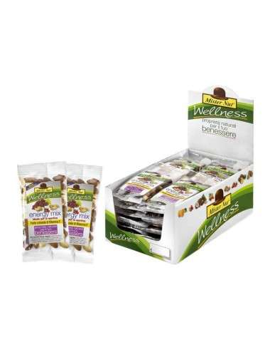 Energy Mix 24 pezzi x 25gr Wellness Mister Nut