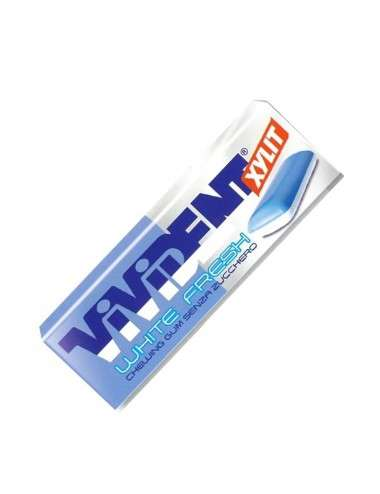 VIVIDENT White Fresh xylit Peppermint 40 stick