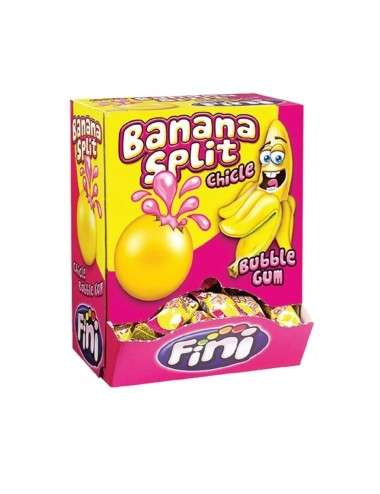 Banana Split Bubble Gum FINI 200 pezzi