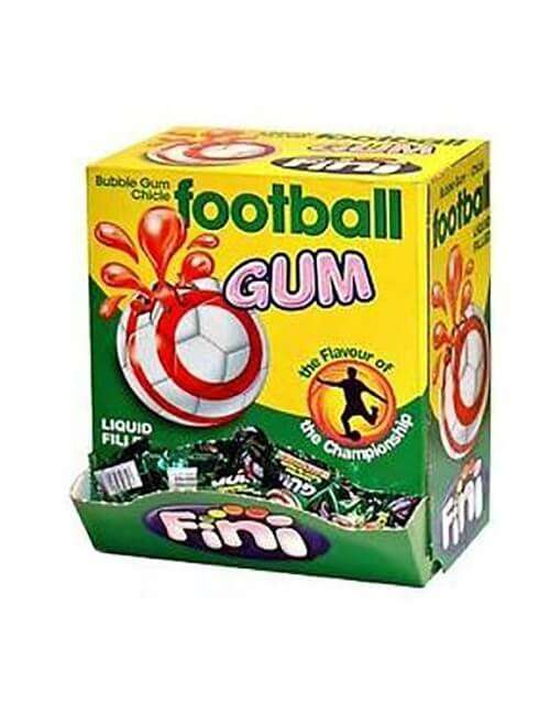 Football Gum Bubble Gum Fini 200 pezzi