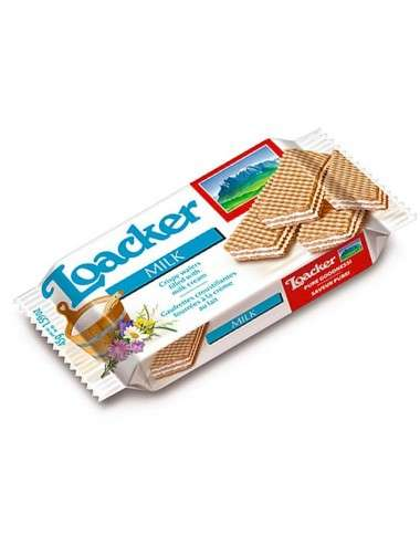 Loacker Classic Milk wafer 25 pezzi da 45g