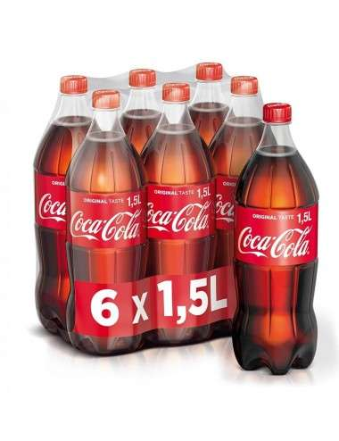 COCA COLA Original Taste PET 6 x 1,5 L