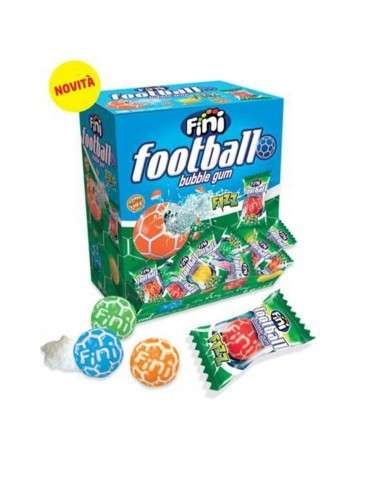 Fini Football Fizz Bubble Gum 200 pezzi