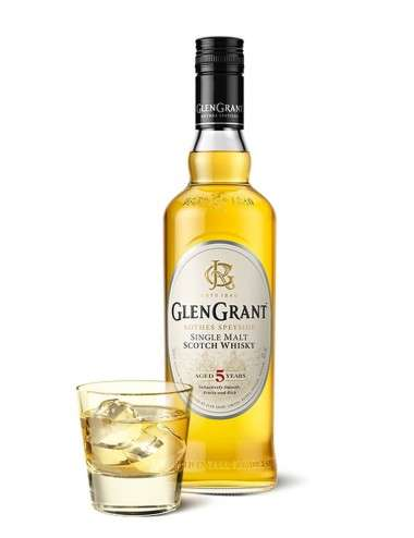 Glen Grant Single Malt Scotch Whisky aged 5 years 100 cl