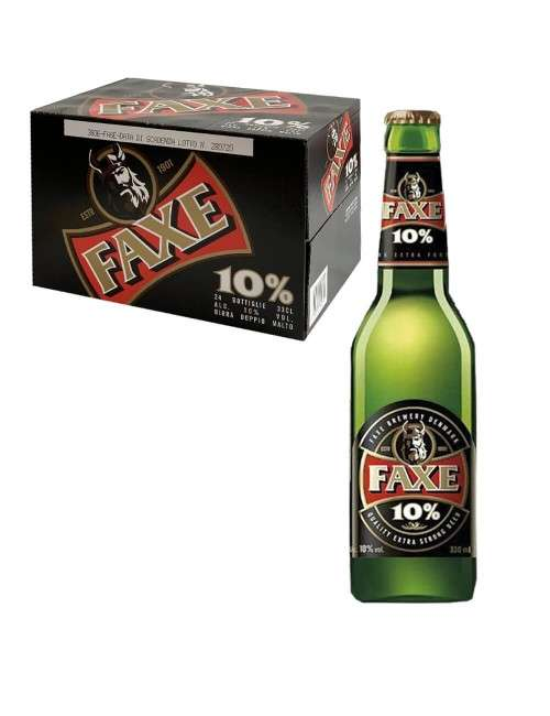 Faxe Birra 10% vol cartone da 24 x 33 cl - 1