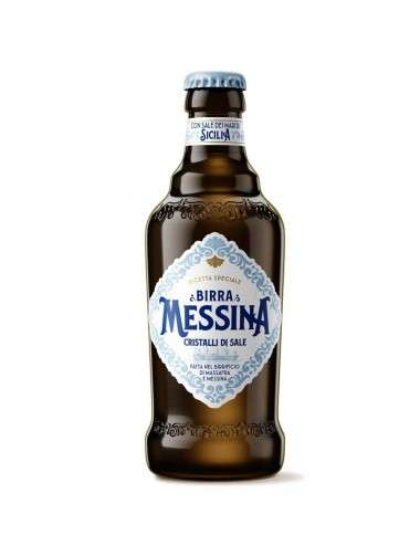 Birra Messina Cristalli di Sale Cartone 24 x 33 cl