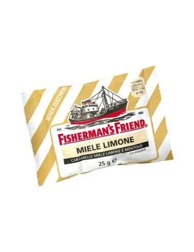 Fisherman's Friend Miele e Limone 24 pezzi x 25 g