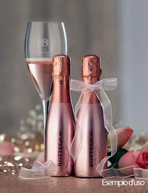 Rose Gold Pinot Nero spumante Brut Bottega 20 cl