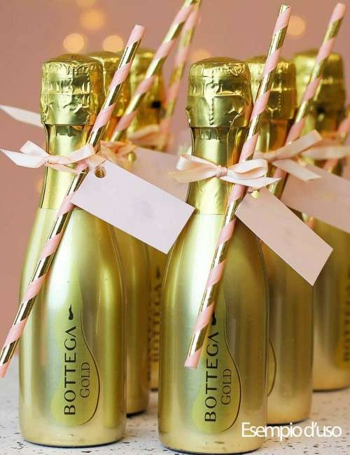Gold Prosecco DOC Spumante Brut Bottega 20 cl