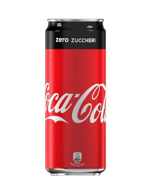 Coca Cola Zero zuccheri 24 lattine da 33 cl - 1