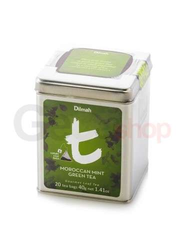Dilmah Luxury Lattina Moroccan Mint Green Tea